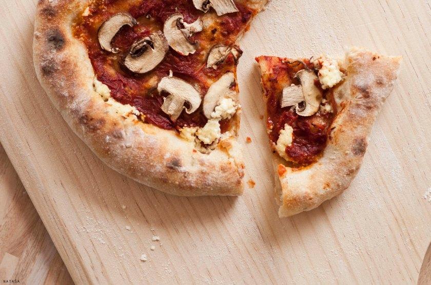Pečena pizza.