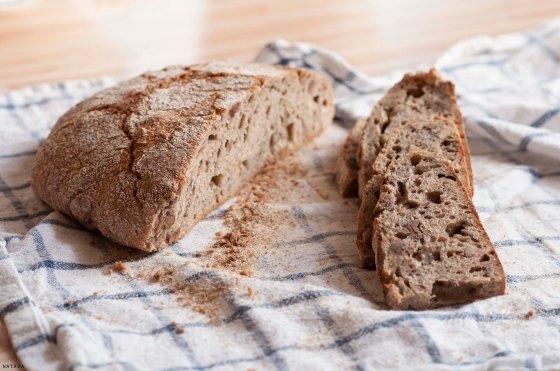 Pečen kruh.